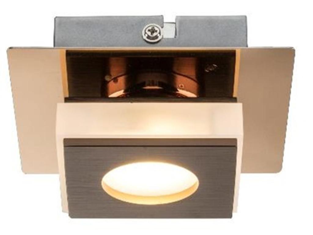 Светильник настенно-потолочныйПотолочные светильники<br>&amp;lt;div&amp;gt;Вид цоколя: LED&amp;lt;/div&amp;gt;&amp;lt;div&amp;gt;Мощность: &amp;amp;nbsp;5W&amp;amp;nbsp;&amp;lt;/div&amp;gt;&amp;lt;div&amp;gt;Количество ламп: 1 (нет в комплекте)&amp;lt;/div&amp;gt;<br><br>Material: Металл<br>Length см: None<br>Width см: 11.5<br>Depth см: 11.5<br>Height см: 6<br>Diameter см: None