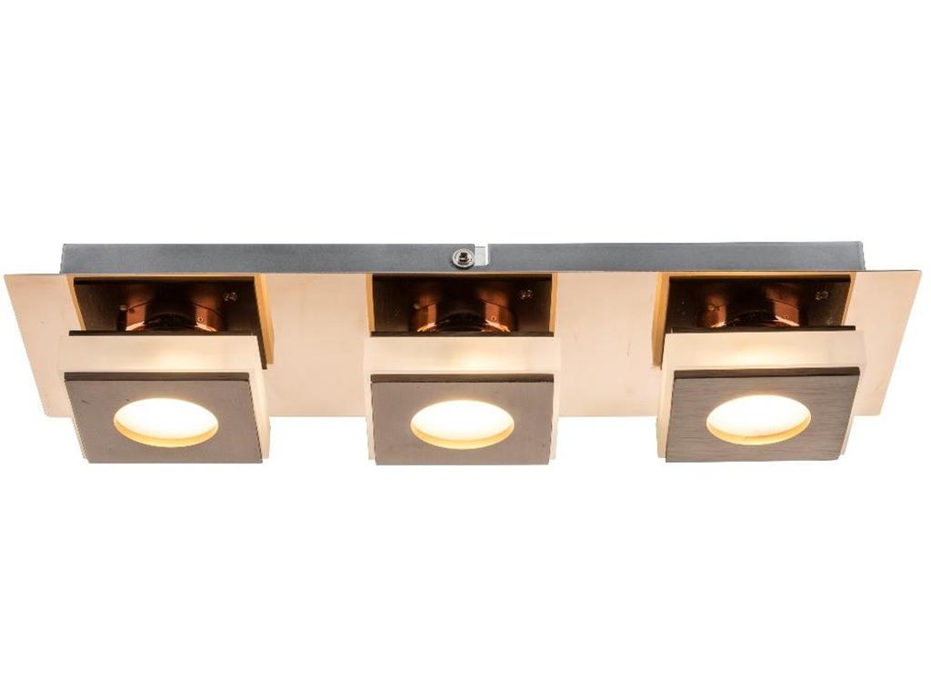 Светильник настенно-потолочныйПотолочные светильники<br>&amp;lt;div&amp;gt;Вид цоколя: LED&amp;lt;/div&amp;gt;&amp;lt;div&amp;gt;Мощность: &amp;amp;nbsp;5W&amp;amp;nbsp;&amp;lt;/div&amp;gt;&amp;lt;div&amp;gt;Количество ламп: 3&amp;lt;/div&amp;gt;<br><br>Material: Металл<br>Ширина см: 34<br>Высота см: 6<br>Глубина см: 11