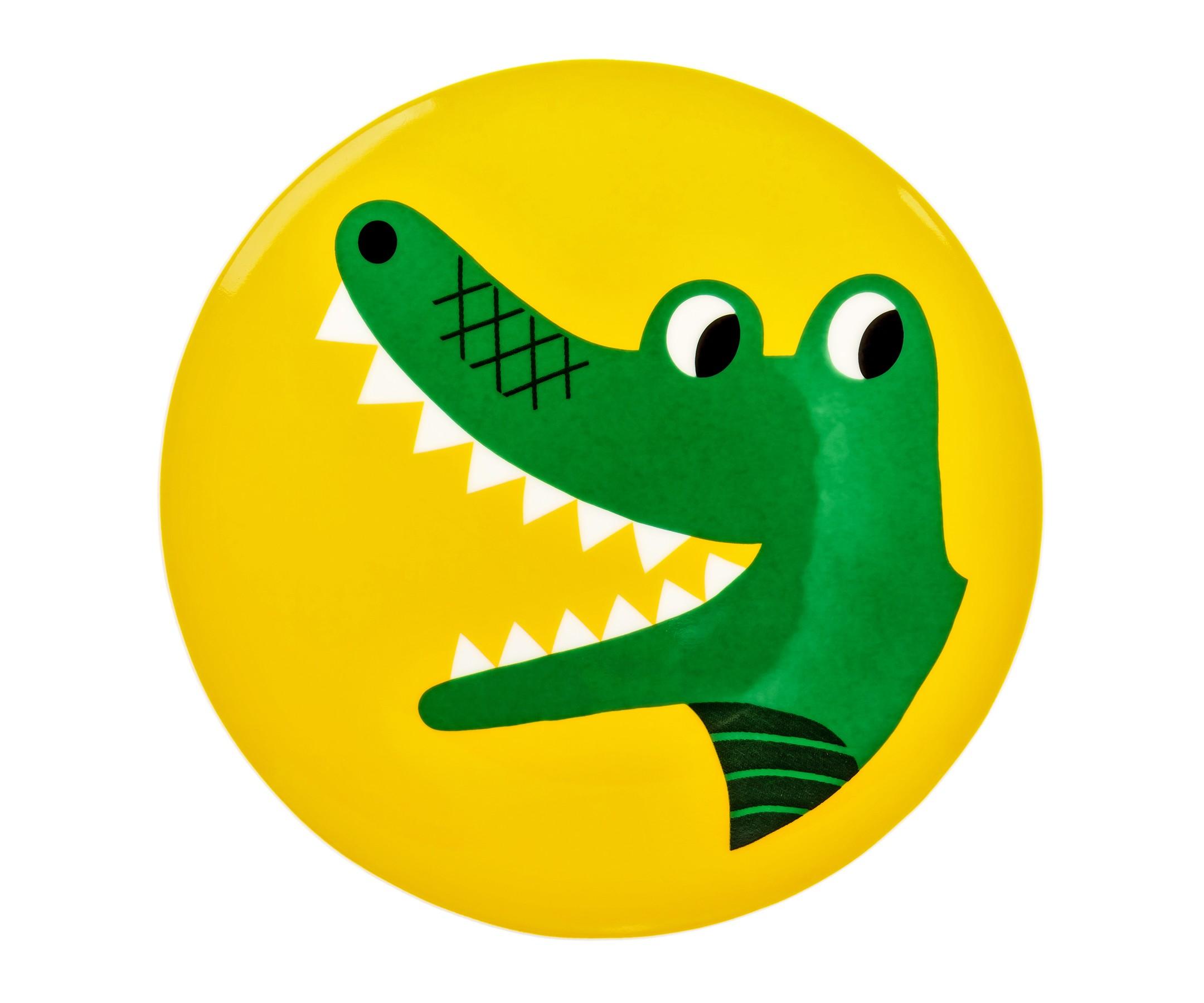 "Тарелка ""Крокодильчик"""