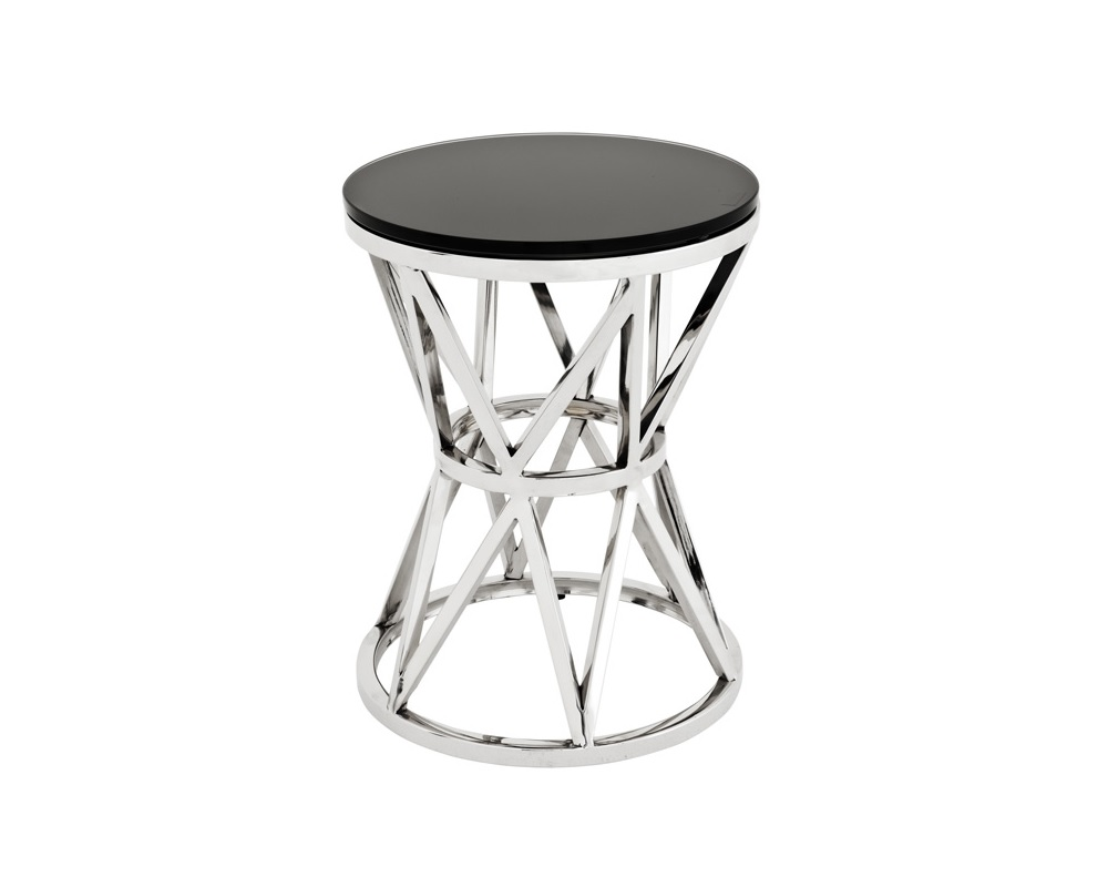 Столик Side Table Domingo SКофейные столики<br><br><br>Material: Стекло<br>Height см: 39<br>Diameter см: 29