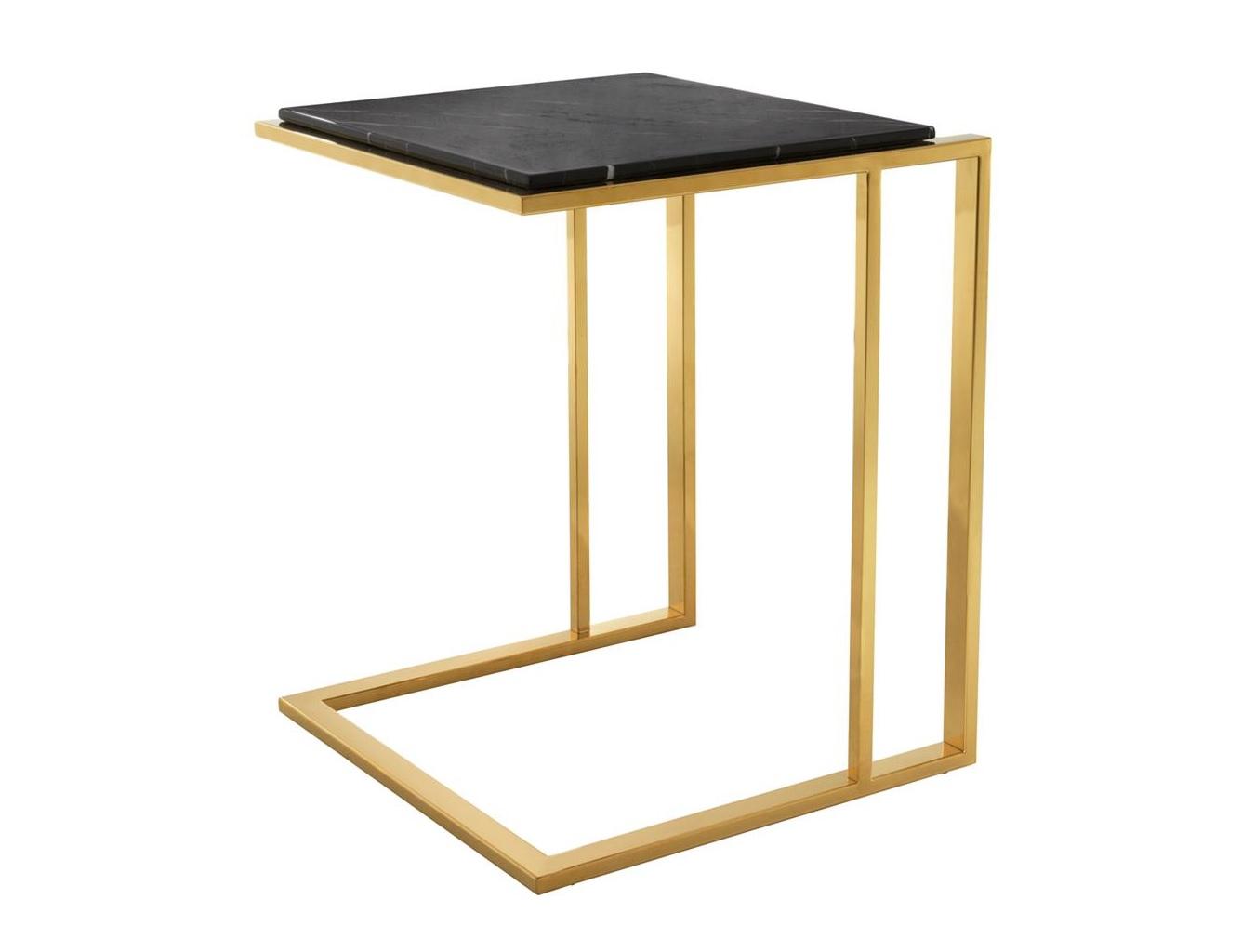 Столик Side Table CocktailПриставные столики<br><br><br>Material: Мрамор<br>Ширина см: 45<br>Высота см: 58<br>Глубина см: 45