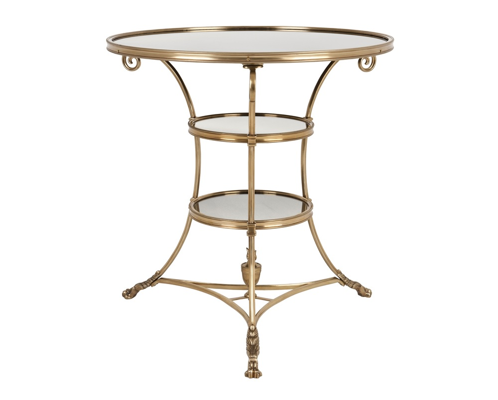 Столик Side Table Rubinstein LКофейные столики<br><br><br>Material: Металл<br>Height см: 71<br>Diameter см: 70