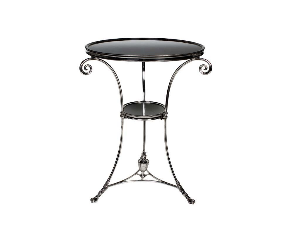 Столик Side Table Rubinstein SКофейные столики<br><br><br>Material: Металл<br>Height см: 71<br>Diameter см: 51