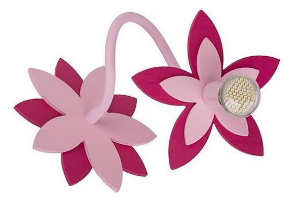 Бра FlowersБра<br>Лампы в комплекте - отсутствуют, Максимальная мощность лампы, Вт - 35, Общее кол-во ламп - 1, Тип цоколя лампы - GU10, Коллекция - Flowers<br><br>Material: Металл<br>Width см: 20<br>Height см: 20