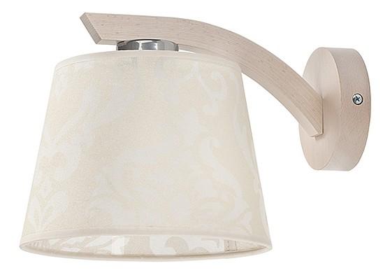 Бра MikaБра<br>Лампы в комплекте - отсутствуют, Максимальная мощность лампы, Вт - 60, Общее кол-во ламп - 1, Тип цоколя лампы - E27, Коллекция - Mika<br><br>Material: Дерево<br>Ширина см: 20<br>Высота см: 18