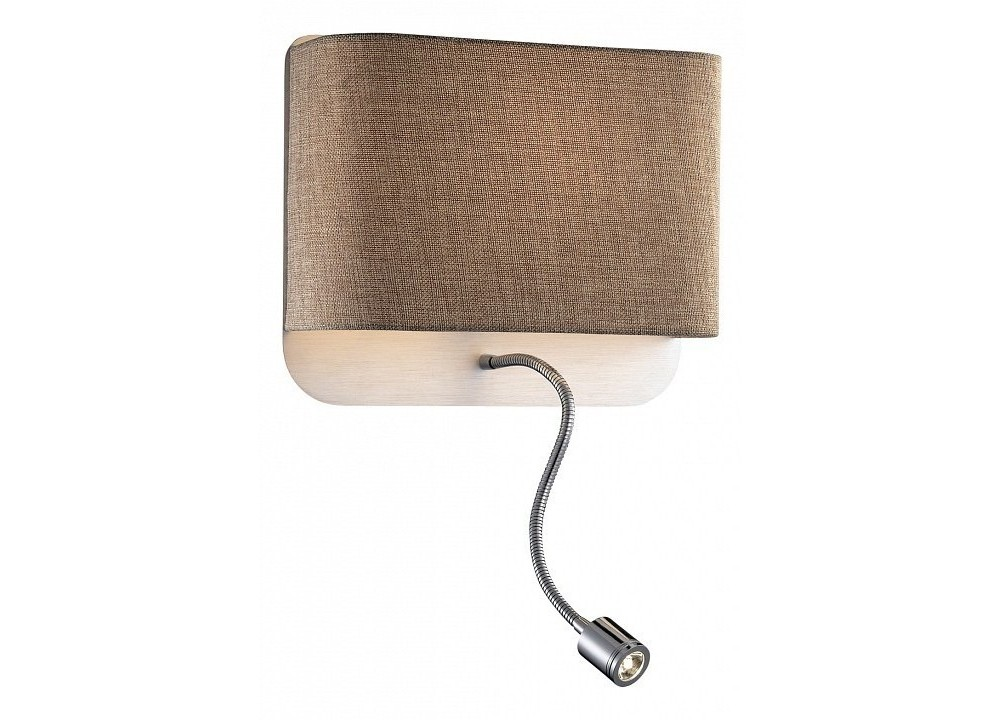 Бра с подсветкой BostriБра<br>Лампы в комплекте - светодиодная [LED], Максимальная мощность лампы, Вт - 60, 1, Общее кол-во ламп - 2, Тип цоколя лампы - E27, Коллекция - Bostri<br><br>Material: Металл<br>Width см: 28<br>Height см: 24