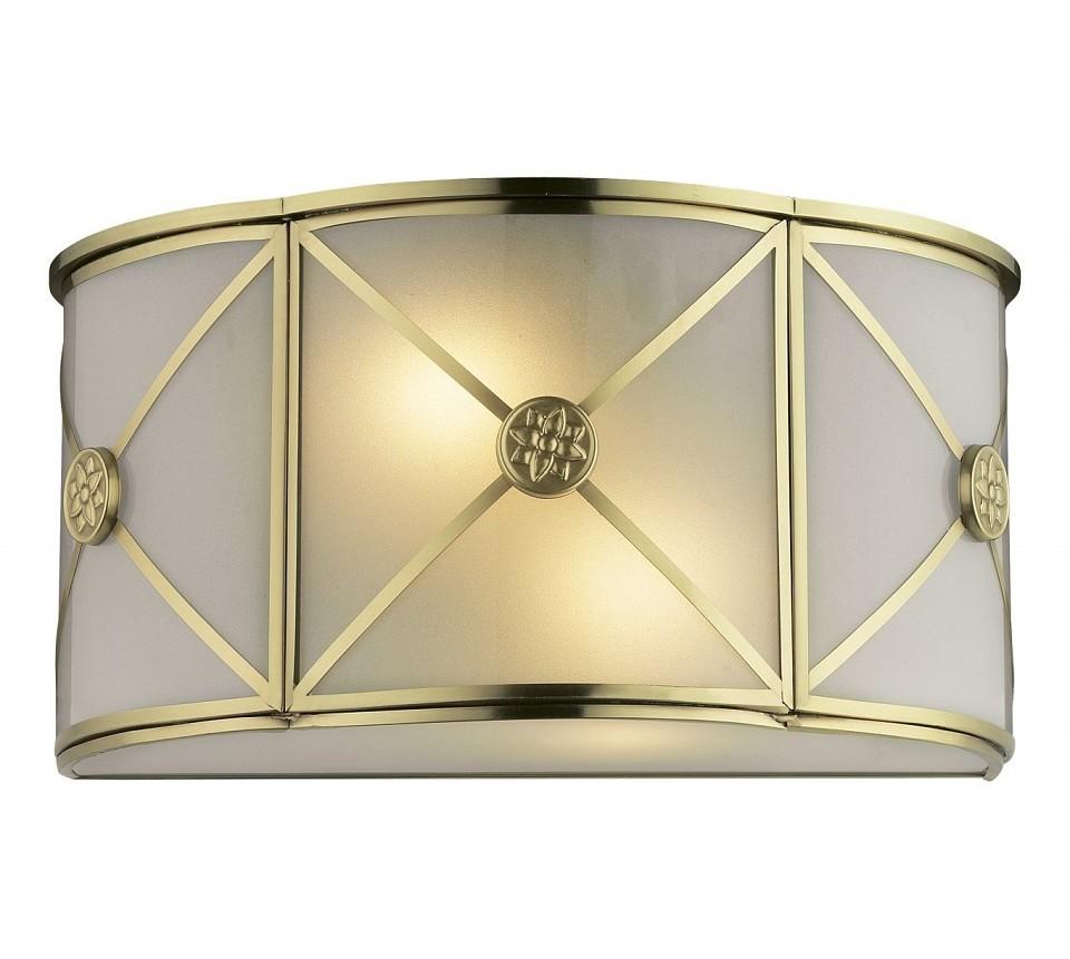 Накладной светильник RionaБра<br>Лампы в комплекте - отсутствуют, Максимальная мощность лампы, Вт - 60, Общее кол-во ламп - 2, Тип цоколя лампы - E14, Коллекция - Riona<br><br>Material: Металл<br>Width см: 32<br>Height см: 16