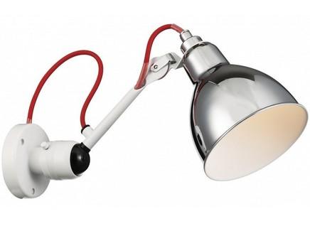 Бра (lightstar) серебристый 14x17x38 см.