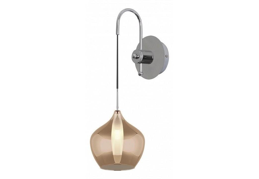 Бра pentola (lightstar) коричневый 16x24x23 см. фото