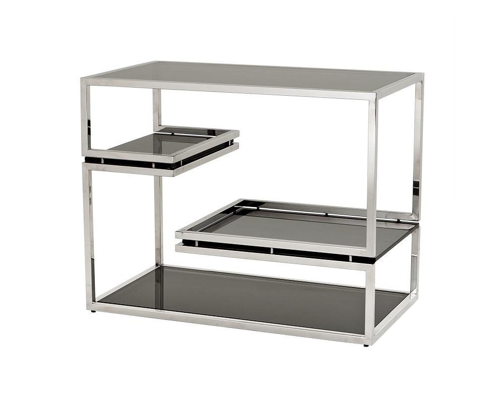 Стеллаж Side Table ShamrockСтеллажи и этажерки<br><br><br>Material: Сталь<br>Ширина см: 81<br>Высота см: 63<br>Глубина см: 45