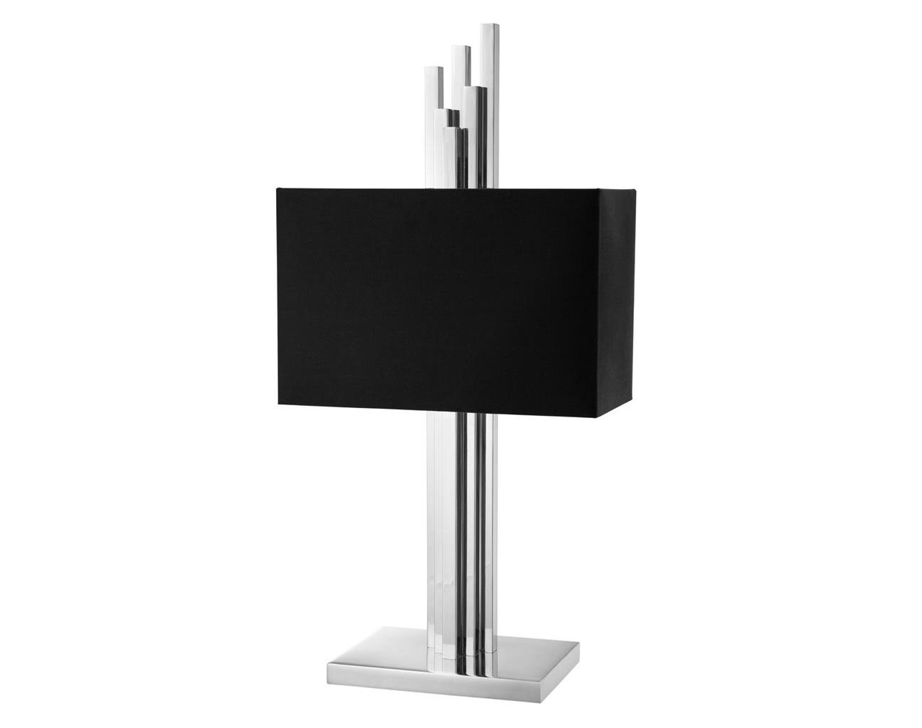 Настольная лампа Table Lamp CarusoДекоративные лампы<br>&amp;lt;div&amp;gt;Вид цоколя: E27&amp;lt;br&amp;gt;&amp;lt;/div&amp;gt;&amp;lt;div&amp;gt;&amp;lt;div&amp;gt;Мощность: 40W&amp;lt;/div&amp;gt;&amp;lt;div&amp;gt;Количество ламп: 2 (нет в комплекте)&amp;lt;/div&amp;gt;&amp;lt;/div&amp;gt;<br><br>Material: Металл<br>Ширина см: 40.0<br>Высота см: 80.0<br>Глубина см: 27.0