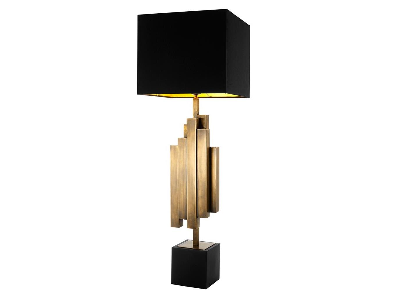 Настольная лампа Table Lamp Beau RivageДекоративные лампы<br>&amp;lt;div&amp;gt;Вид цоколя: E27&amp;lt;br&amp;gt;&amp;lt;/div&amp;gt;&amp;lt;div&amp;gt;&amp;lt;div&amp;gt;Мощность: 40W&amp;lt;/div&amp;gt;&amp;lt;div&amp;gt;Количество ламп: 1 (нет в комплекте)&amp;lt;/div&amp;gt;&amp;lt;/div&amp;gt;<br><br>Material: Металл<br>Width см: 35<br>Depth см: 18<br>Height см: 105,5
