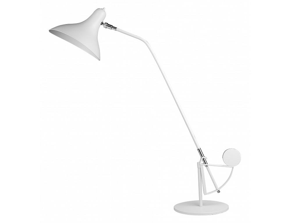 """Купить Настольная лампа """"manti"""" (Lightstar) белый металл 25x97 см. 71633 в интернет магазине. Цены, фото, описания, характеристики, отзывы, обзоры"""