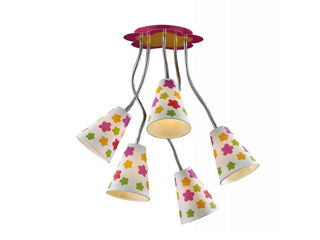 Накладной светильник FlauПотолочные светильники<br>&amp;lt;div&amp;gt;Вид цоколя: E14&amp;lt;/div&amp;gt;&amp;lt;div&amp;gt;Мощность: 40W&amp;lt;/div&amp;gt;&amp;lt;div&amp;gt;Количество ламп: 5 (нет в комплекте)&amp;lt;/div&amp;gt;<br><br>Material: Металл<br>Высота см: 50