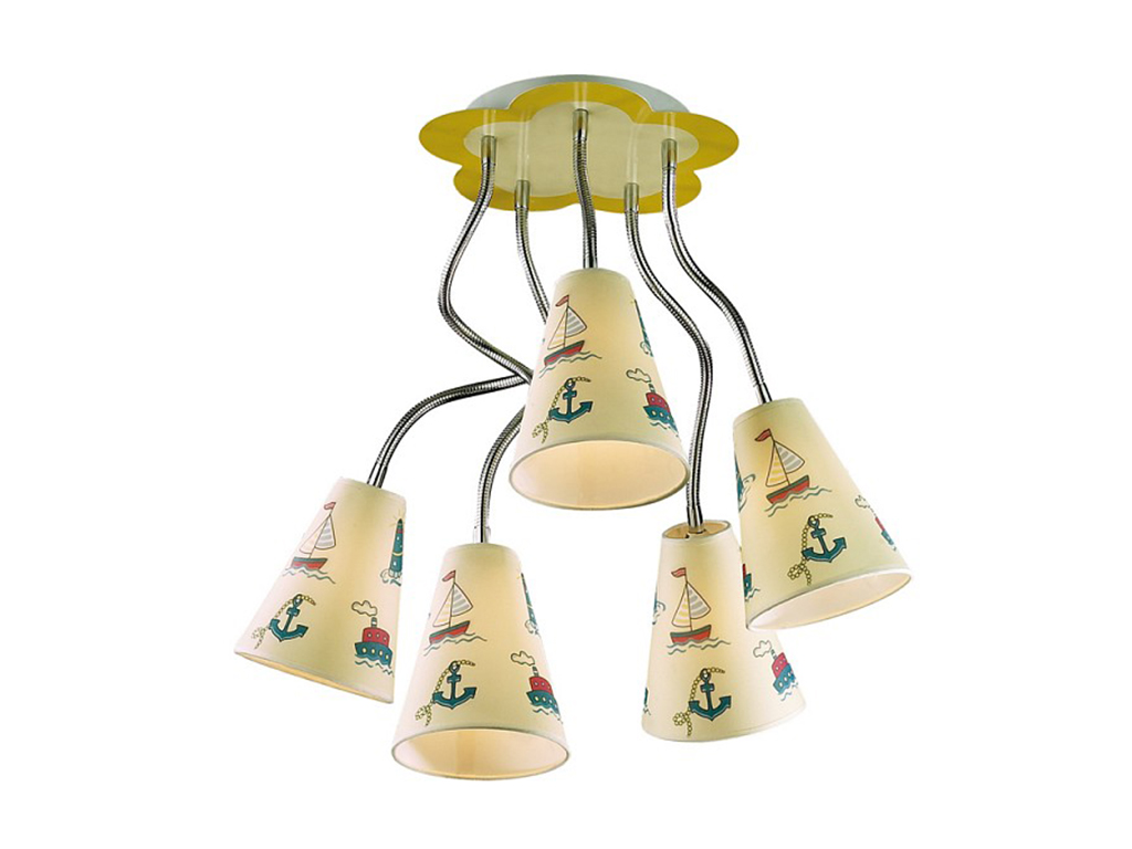 Накладной светильник DreamПотолочные светильники<br>&amp;lt;div&amp;gt;Вид цоколя: E14&amp;lt;/div&amp;gt;&amp;lt;div&amp;gt;Мощность: 40W&amp;lt;/div&amp;gt;&amp;lt;div&amp;gt;Количество ламп: 5 (нет в комплекте)&amp;lt;/div&amp;gt;<br><br>Material: Металл<br>Высота см: 50