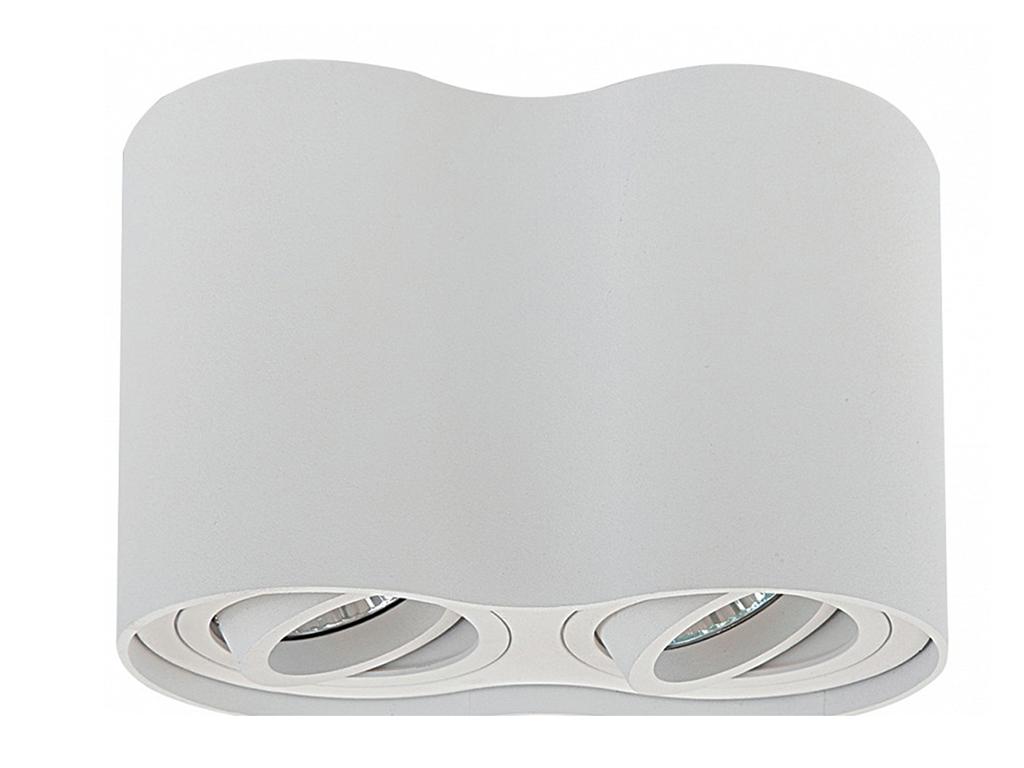 Накладной светильник BinocoПотолочные светильники<br>&amp;lt;div&amp;gt;Вид цоколя: GU10&amp;lt;/div&amp;gt;&amp;lt;div&amp;gt;Мощность: 50W&amp;lt;/div&amp;gt;&amp;lt;div&amp;gt;Количество ламп: 2 (нет в комплекте)&amp;lt;/div&amp;gt;<br><br>Material: Металл<br>Length см: None<br>Width см: 18<br>Depth см: 9.7<br>Height см: 12.5