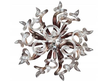 Накладной светильник medusa (lightstar) прозрачный