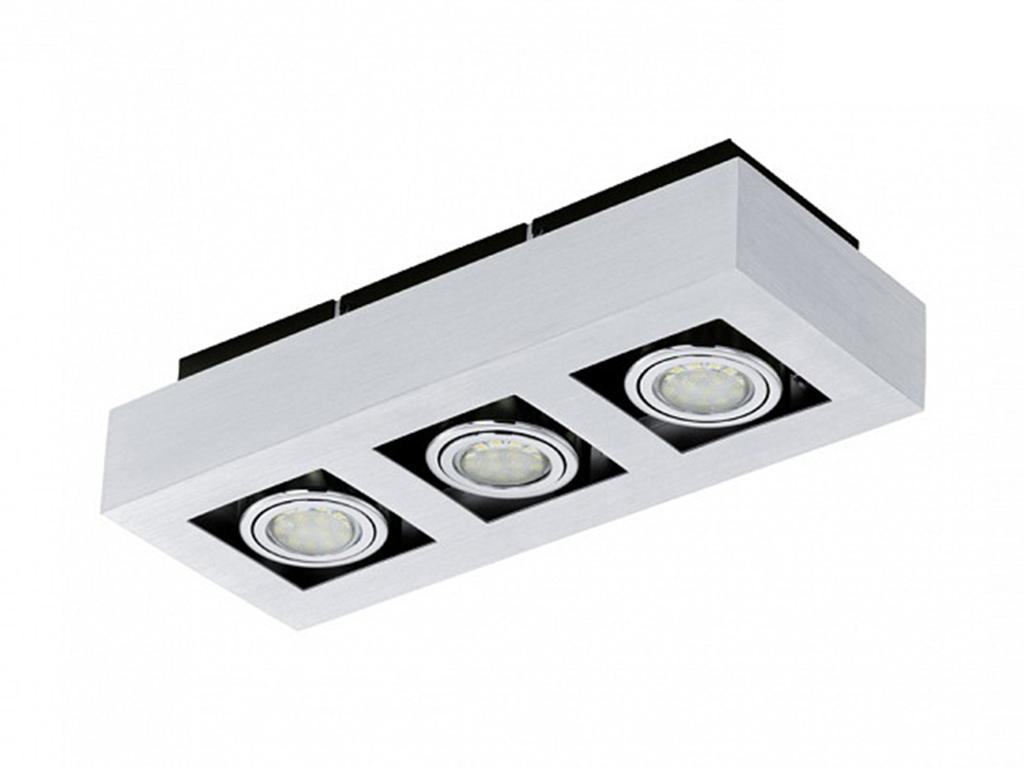 Накладной светильник LokeПотолочные светильники<br>&amp;lt;div&amp;gt;Вид цоколя: GU10&amp;lt;/div&amp;gt;&amp;lt;div&amp;gt;Мощность: 3W&amp;lt;/div&amp;gt;&amp;lt;div&amp;gt;Количество ламп: 3 (нет в комплекте)&amp;lt;/div&amp;gt;<br><br>Material: Металл<br>Ширина см: 36<br>Высота см: 7<br>Глубина см: 14