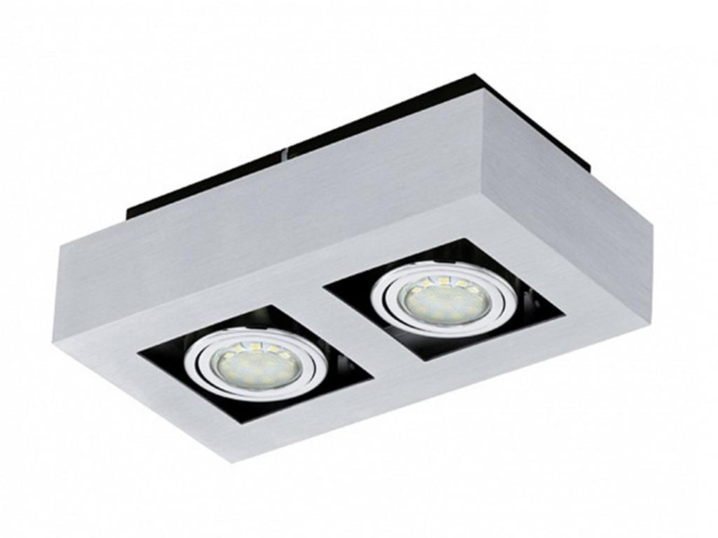 Накладной светильник LokeПотолочные светильники<br>&amp;lt;div&amp;gt;Вид цоколя: GU10&amp;lt;/div&amp;gt;&amp;lt;div&amp;gt;Мощность: 3W&amp;lt;/div&amp;gt;&amp;lt;div&amp;gt;Количество ламп: 2 (нет в комплекте)&amp;lt;/div&amp;gt;<br><br>Material: Металл<br>Length см: 25<br>Width см: 14<br>Height см: 7.5