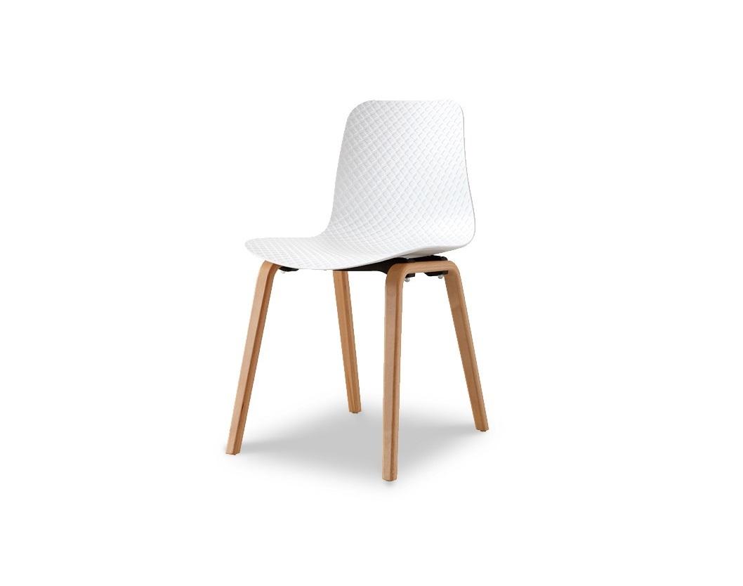 СтулОбеденные стулья<br>Эргономичная спинка и сиденье из высококачественного пластика ABS, ножки деревянные&amp;amp;nbsp;<br><br>Material: Пластик<br>Ширина см: 45<br>Высота см: 80<br>Глубина см: 47