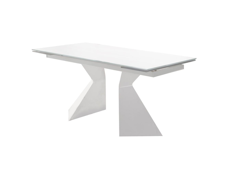СтолОбеденные столы<br>Раскладывается до 220 см<br><br>Material: Стекло<br>Ширина см: 160<br>Высота см: 75<br>Глубина см: 90