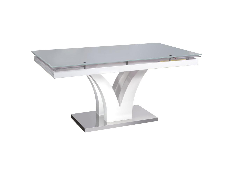 СтолОбеденные столы<br>Раскладывается до 220 см<br><br>Material: Стекло<br>Ширина см: 220<br>Высота см: 76<br>Глубина см: 90
