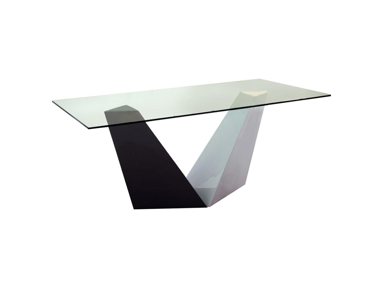 СтолОбеденные столы<br><br><br>Material: Стекло<br>Ширина см: 180<br>Высота см: 76<br>Глубина см: 90