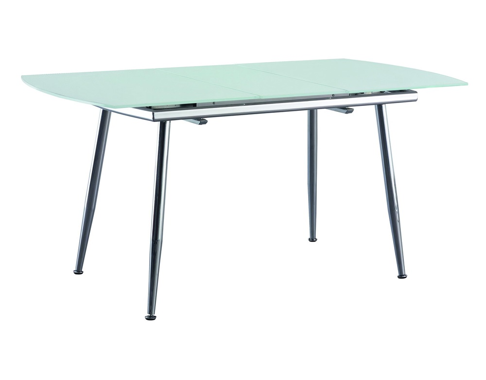 СтолОбеденные столы<br>Раскладывается до 155 см.<br><br>Material: Стекло<br>Width см: 120<br>Depth см: 80<br>Height см: 75