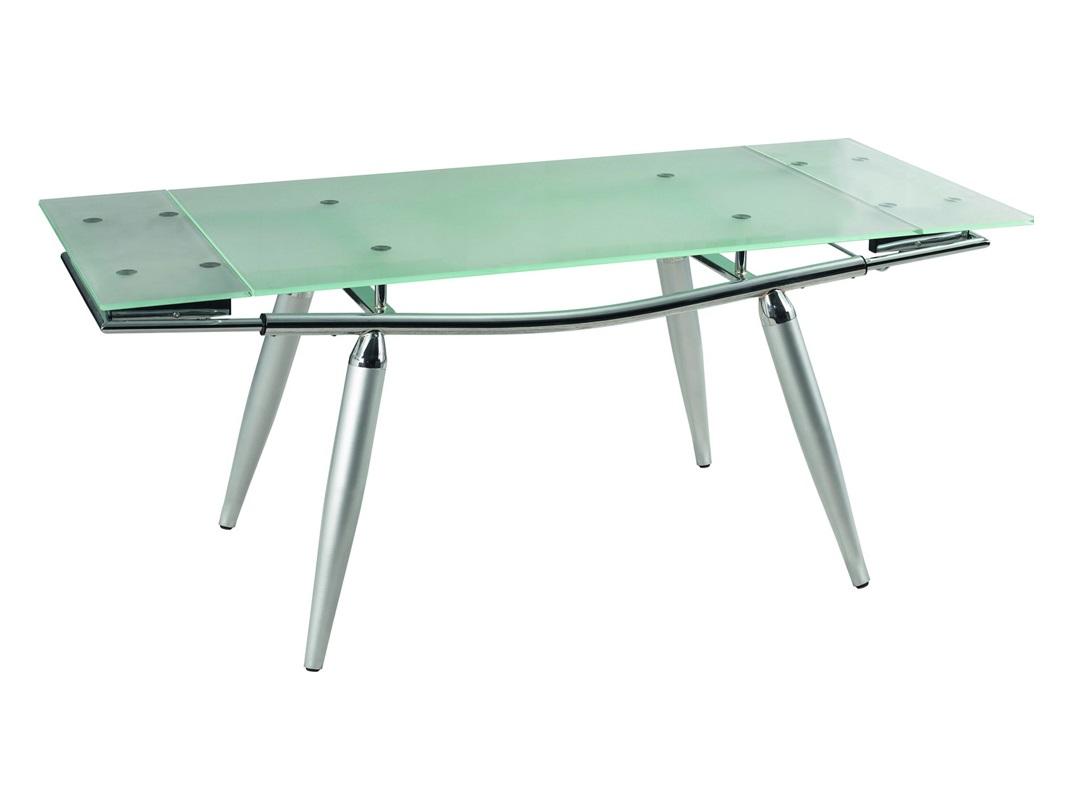СтолОбеденные столы<br>Раскладывается 182 см.<br><br>Material: Стекло<br>Ширина см: 130<br>Высота см: 80<br>Глубина см: 75
