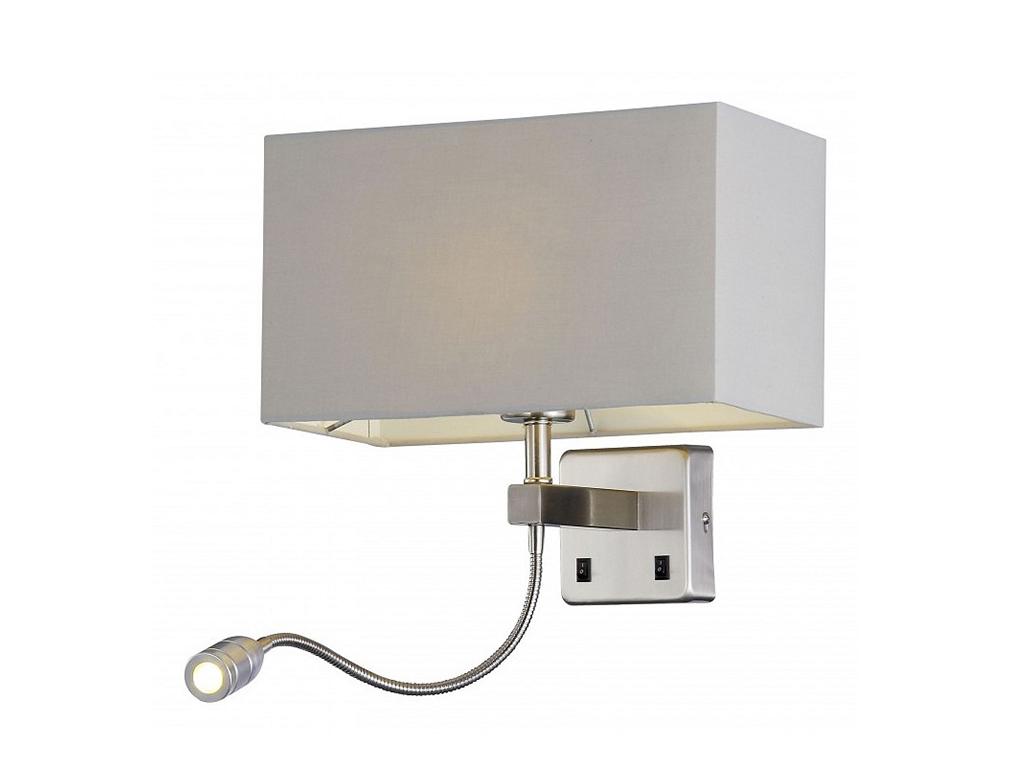 Бра с подсветкой JewelБра<br>&amp;lt;div&amp;gt;Вид цоколя: E27, LED&amp;lt;/div&amp;gt;&amp;lt;div&amp;gt;Мощность:60. 1W&amp;lt;/div&amp;gt;&amp;lt;div&amp;gt;Количество ламп: 2 ( E27 нет в комплекте)&amp;lt;/div&amp;gt;<br><br>Material: Металл<br>Width см: 20<br>Depth см: 30<br>Height см: 56