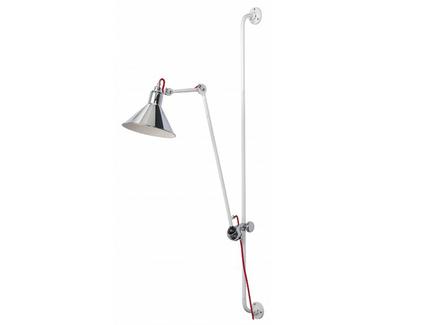 Бра (lightstar) серебристый 21x128x31 см.