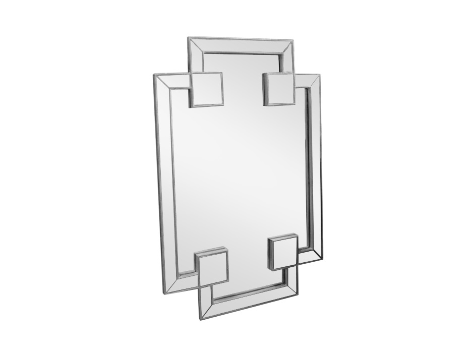 Зеркало ручной работы Помпезное блаженствоНастенные зеркала<br>Ошеломляющая форма и чрезвычайно искусная работа соединились вместе в виде зеркала Помпезное блаженство. Это творение станет настоящим украшением Вашего дома!<br><br>Material: Дерево<br>Ширина см: 80<br>Высота см: 120<br>Глубина см: 4