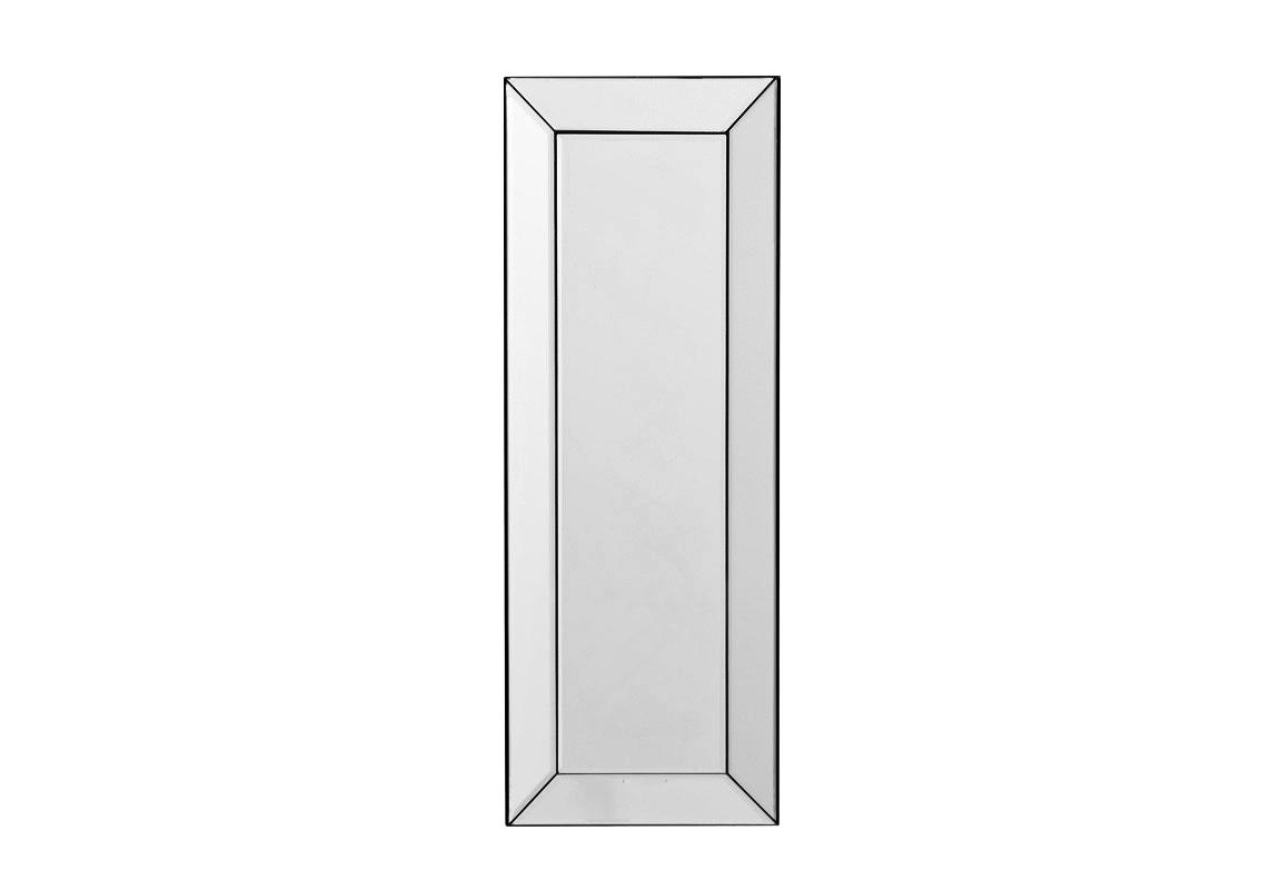 ЗеркалоНастенные зеркала<br>Зеркало Mirror Waterford в зеркальной раме. Декор: подсвечник из прозрачного стекла на зеркале.<br><br>Material: Стекло<br>Width см: 22,5<br>Height см: 60