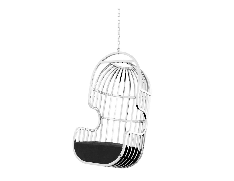 Кресло Swing Chair La JollaПодвесные кресла<br><br><br>Material: Металл<br>Ширина см: 68<br>Высота см: 136<br>Глубина см: 68