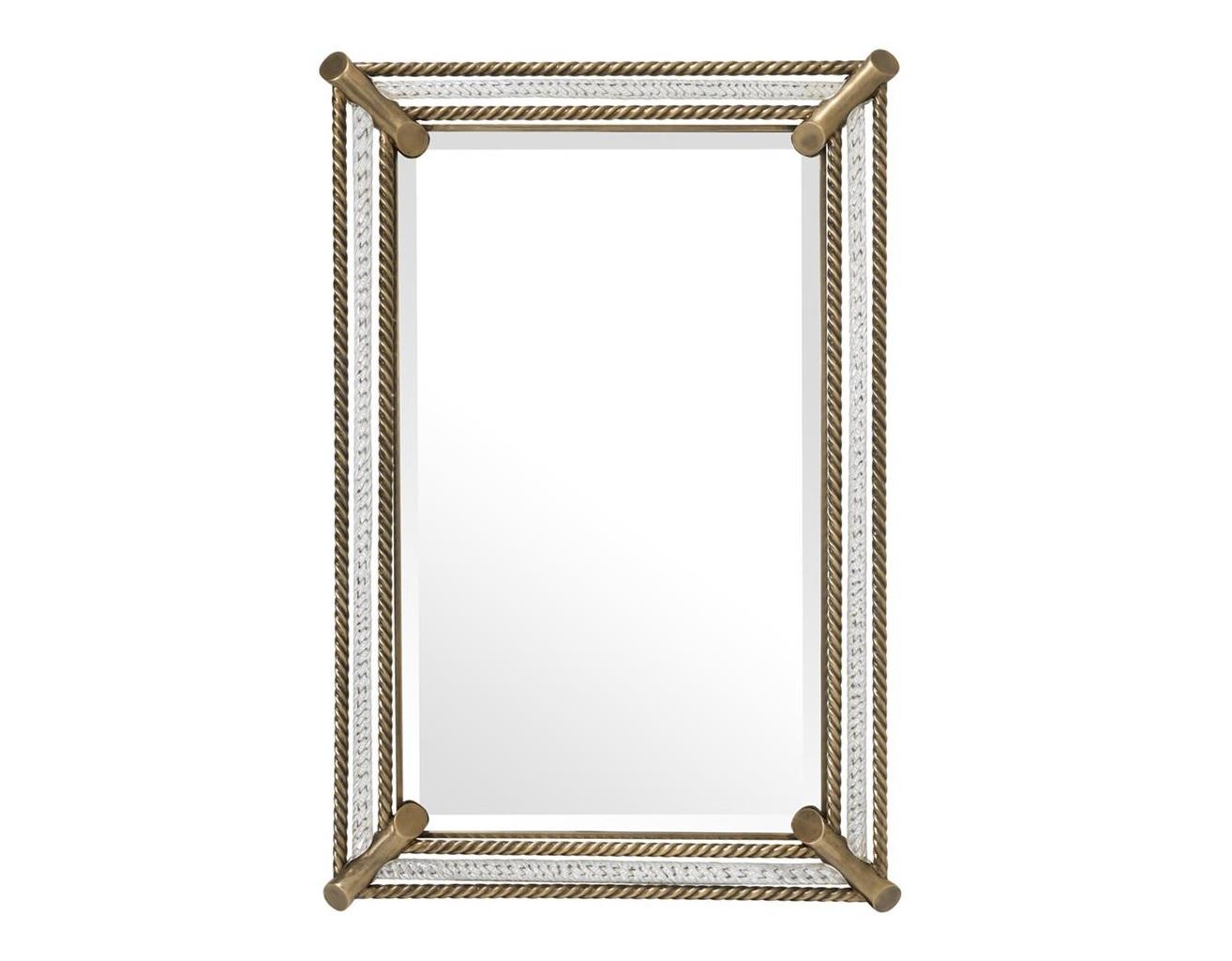 Зеркало Mirror CantoniНастенные зеркала<br><br><br>Material: Металл<br>Ширина см: 79<br>Высота см: 107<br>Глубина см: 3
