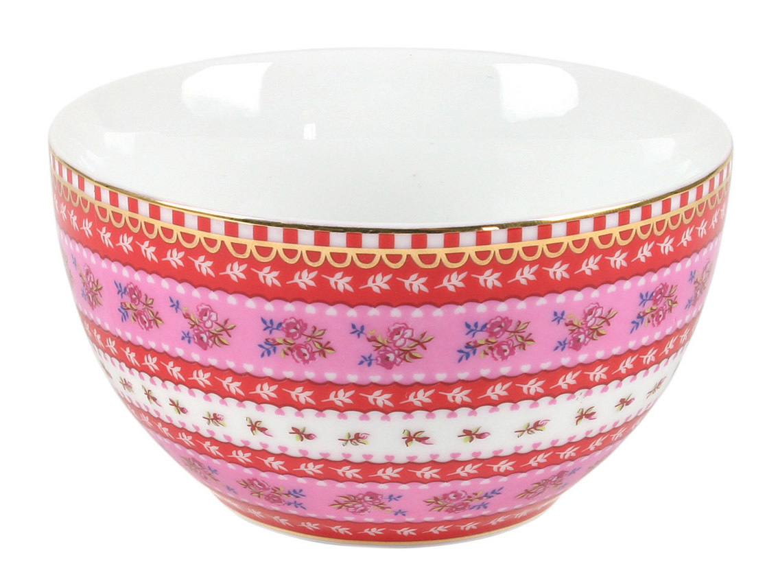 Набор Floral (2шт)Миски и чаши<br>Набор из 2-х пиал Floral. Не использовать в микроволновой печи. Не рекомендуется мыть в посудомоечной машине. Коллекция посуды Floral появилась в 2008 г. и состоит из нескольких дизайнов, которые прекрасно сочетаются между собой и отлично дополняют друг друга. Особенность коллекции - в декорировании цветами, птицами и позолотой на всех предметах. Коллекция состоит из трёх цветовых групп - розовой, хаки и голубой, которые можно бесконечно комбинировать между собой. Коллекция также включает в себя кухонный текстиль и стекло.<br><br>Material: Фарфор<br>Width см: 9.5<br>Depth см: 9.5<br>Height см: 5.5