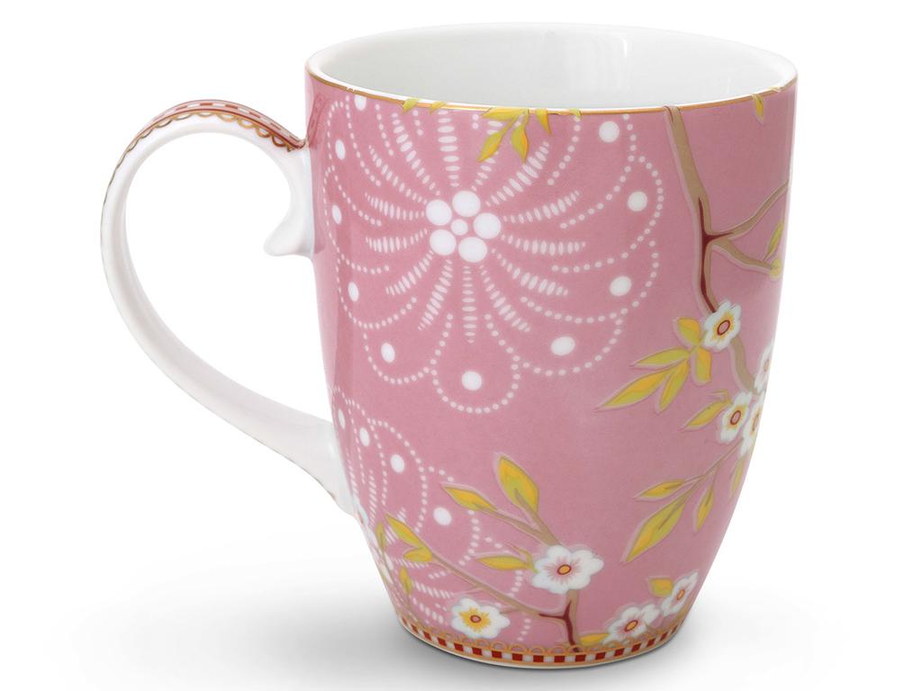 Набор кружек Floral Early Bird (2шт)Чайные пары, чашки и кружки<br>Набор из 2-х больших кружек Floral Early Bird. Объём 350 мл. Не использовать в микроволновой печи. Не рекомендуется мыть в посудомоечной машине.<br><br>Material: Фарфор<br>Ширина см: 8<br>Высота см: 10<br>Глубина см: 8