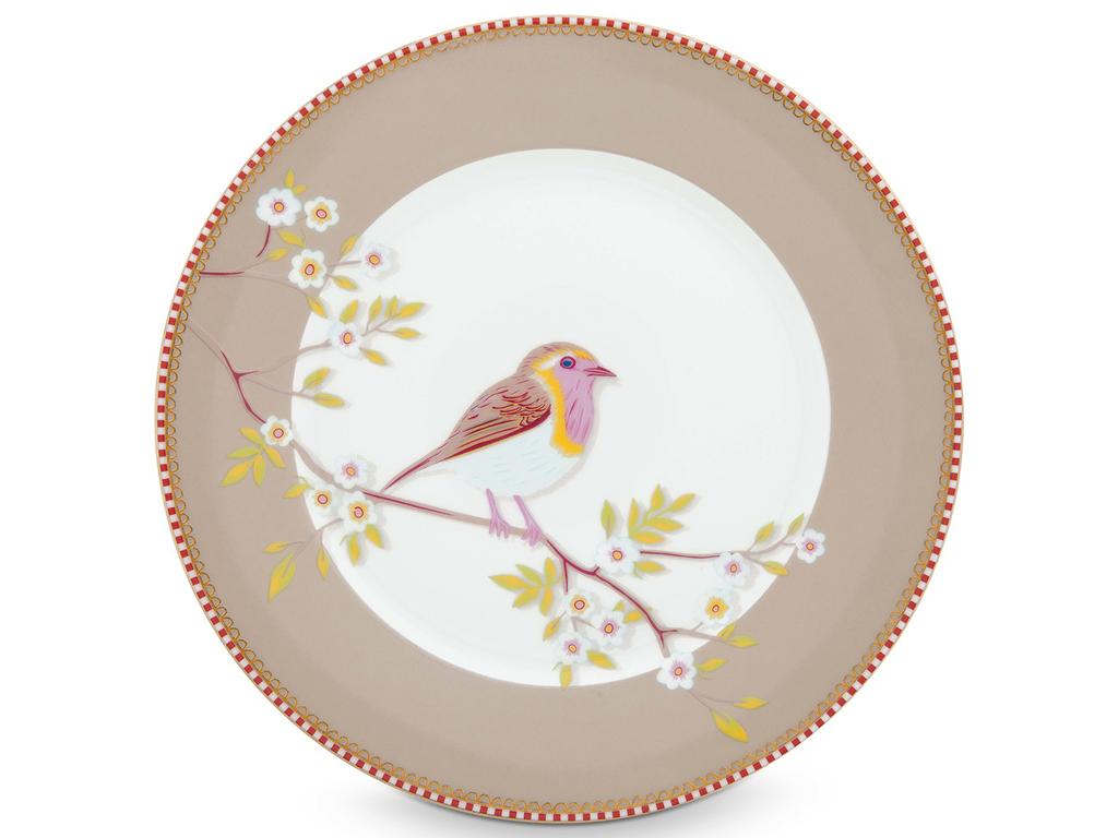 """Набор тарелок """"Floral Khaki"""" (2шт)"""