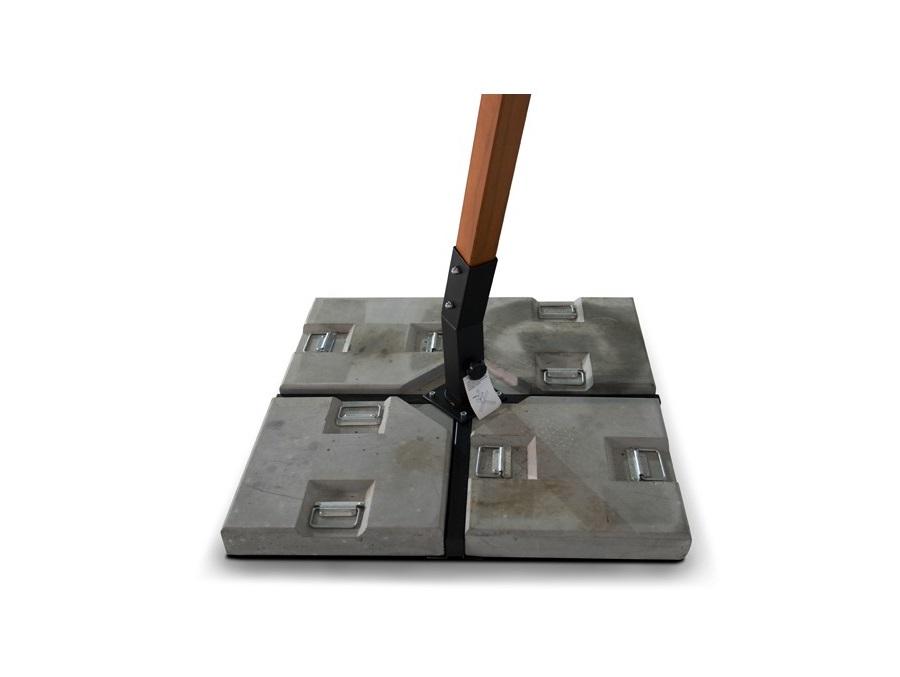Утяжелитель для зонтов (Ливорно/Корсика)Тенты и зонты<br>&amp;lt;span style=&amp;quot;font-size: 14px;&amp;quot;&amp;gt;База утяжелительная для зонта Корсика, состоит из &amp;amp;nbsp;4 каменных плит весом 35 кг каждая.&amp;lt;/span&amp;gt;&amp;lt;br style=&amp;quot;font-size: 14px;&amp;quot;&amp;gt;&amp;lt;div style=&amp;quot;font-size: 14px;&amp;quot;&amp;gt;&amp;lt;span style=&amp;quot;font-size: 14px;&amp;quot;&amp;gt;Материал: бетон.&amp;lt;/span&amp;gt;&amp;lt;/div&amp;gt;<br><br>Material: Цемент<br>Ширина см: 47.0<br>Высота см: 8.0<br>Глубина см: 47.0