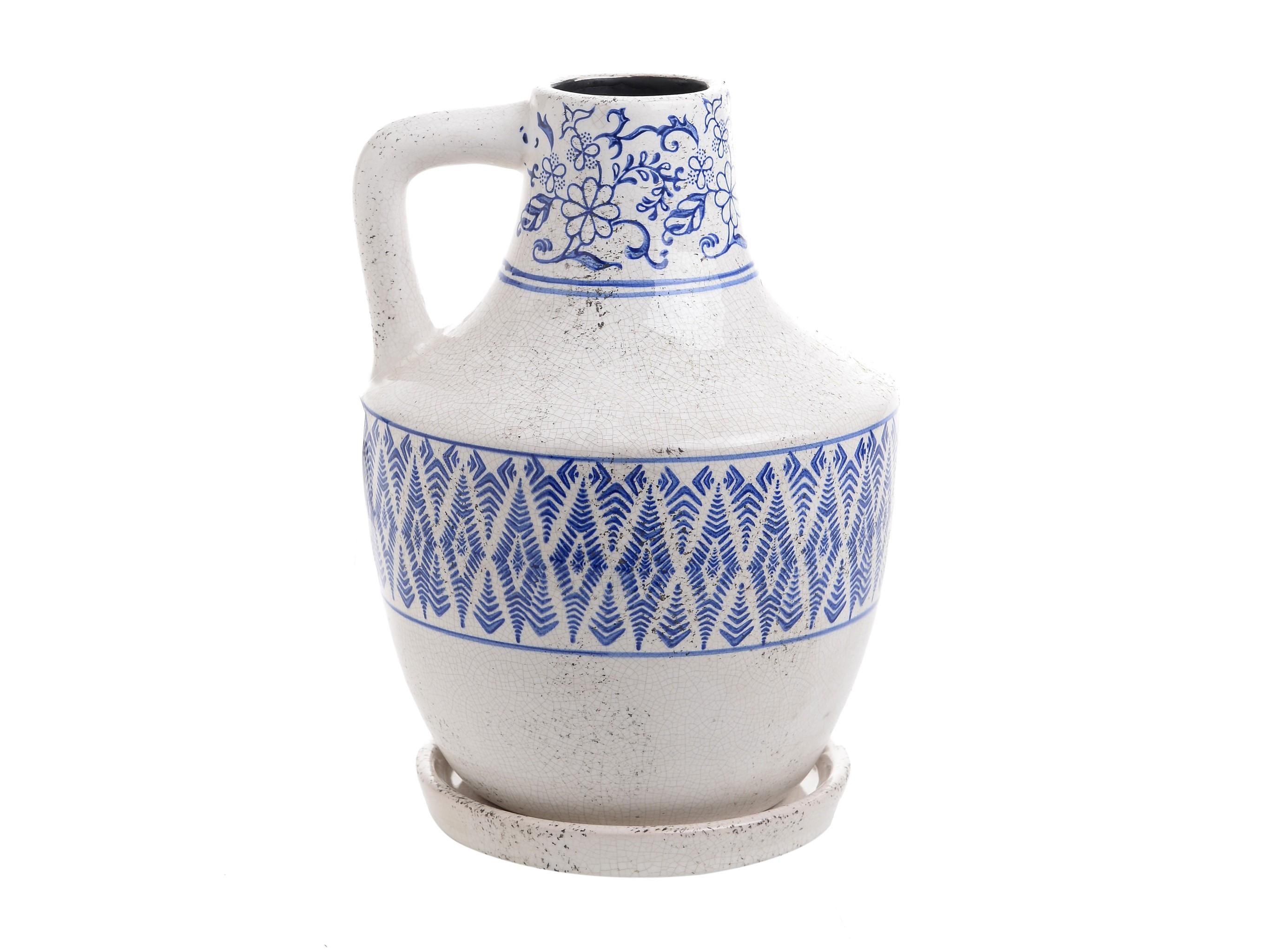 Ваза TodorВазы<br><br><br>Material: Керамика<br>Ширина см: 18.0<br>Высота см: 27.0<br>Глубина см: 18.0