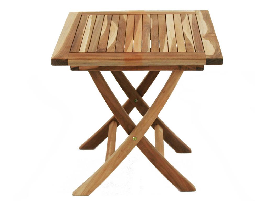 Столик раскладной QuatroСтолы и столики для сада<br>Небольшой раскладной столик из тика.&amp;amp;nbsp;Массив драгоценного дерева и немецкое качество для вашего комфортного отдыха!<br><br>Material: Тик<br>Ширина см: 50<br>Высота см: 50<br>Глубина см: 50