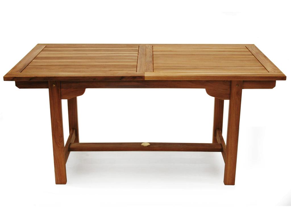Стол обеденный ArnoОбеденные столы<br>Удобный раздвижной стол из массива тика. За ним вы всегда можете собрать прекрасную компанию, места хватит для всех. Ширина в стандартном состоянии - 180 см, а в разложенном - 240 см.<br><br>Material: Тик<br>Ширина см: 180<br>Высота см: 75<br>Глубина см: 120
