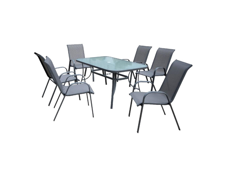 Комплект садовый KingstonКомплекты уличной мебели<br>Стол + 6 стульев&amp;lt;div&amp;gt;&amp;lt;br&amp;gt;&amp;lt;/div&amp;gt;&amp;lt;div&amp;gt;Размеры:&amp;lt;/div&amp;gt;&amp;lt;div&amp;gt;Стол - 150Х71Х90&amp;lt;/div&amp;gt;&amp;lt;div&amp;gt;Стул - 72Х92Х55&amp;lt;/div&amp;gt;<br><br>Material: Искусственный ротанг<br>Width см: 150<br>Depth см: 90<br>Height см: 71