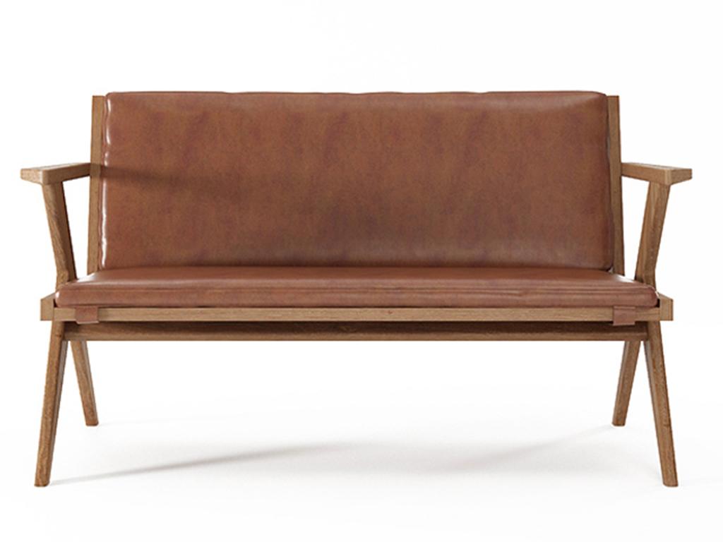 Софа TributeДиванетки и софы<br>Удобная и компактная софа Tribute от Karpenter - образец чистой лаконичной формы, как и другие произведения этого мебельного бренда. Софа предлагает с комфортом присесть, но, тем не менее, напоминает, что всегда важно держать горделивую осанку. Этому спос...<br><br>Material: Тик<br>Length см: 0<br>Width см: 130<br>Depth см: 67<br>Height см: 76<br>Diameter см: 0