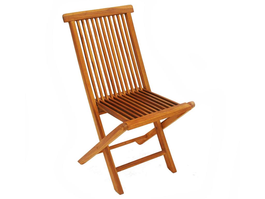 Стул складной AdelСтулья для сада<br>Раскладной стул из тика. Массив драгоценного дерева и немецкое качество для вашего комфортного отдыха!<br><br>Material: Тик<br>Ширина см: 50<br>Высота см: 90<br>Глубина см: 48