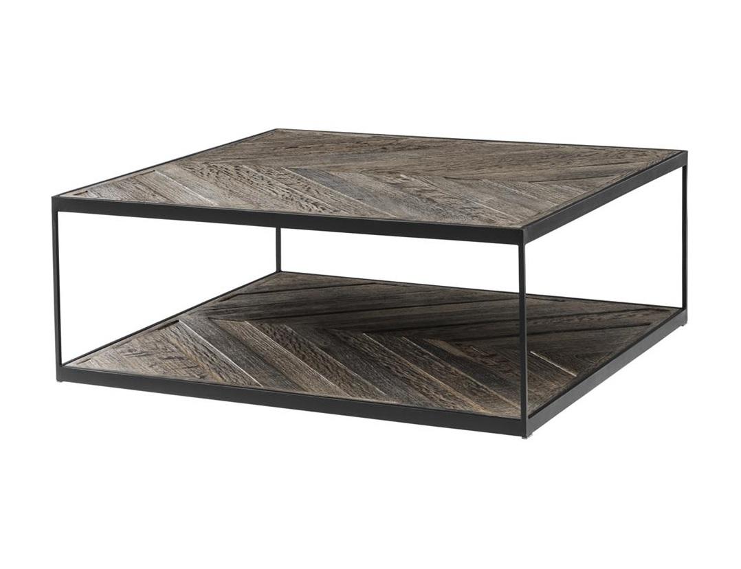 Журнальный столик Coffee Table La VarenneЖурнальные столики<br><br><br>Material: Дерево<br>Ширина см: 100.0<br>Высота см: 38.0<br>Глубина см: 100.0