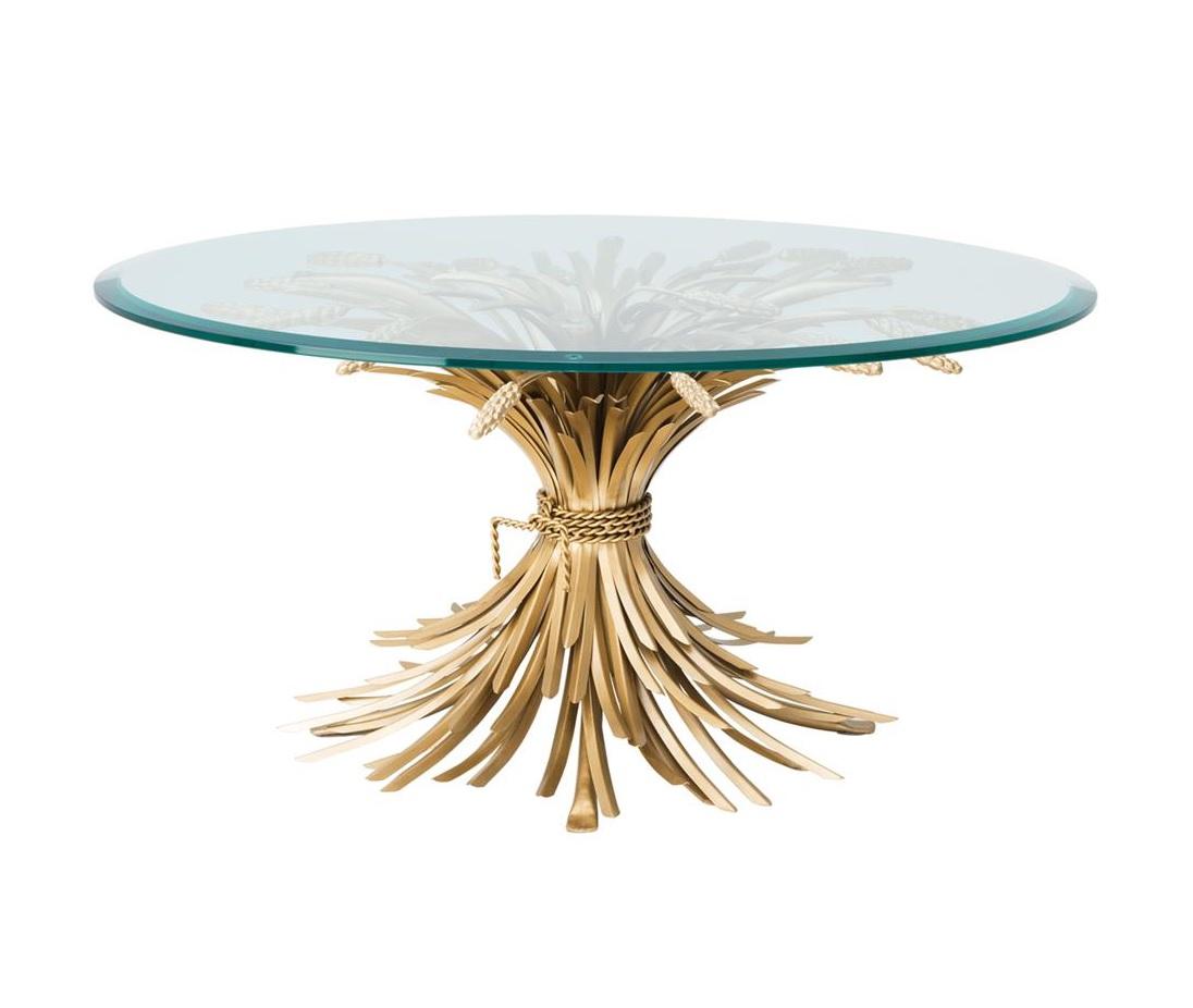 Журнальный столик Coffee Table BonheurЖурнальные столики<br><br><br>Material: Металл<br>Ширина см: 90.0<br>Высота см: 43.0<br>Глубина см: 90.0