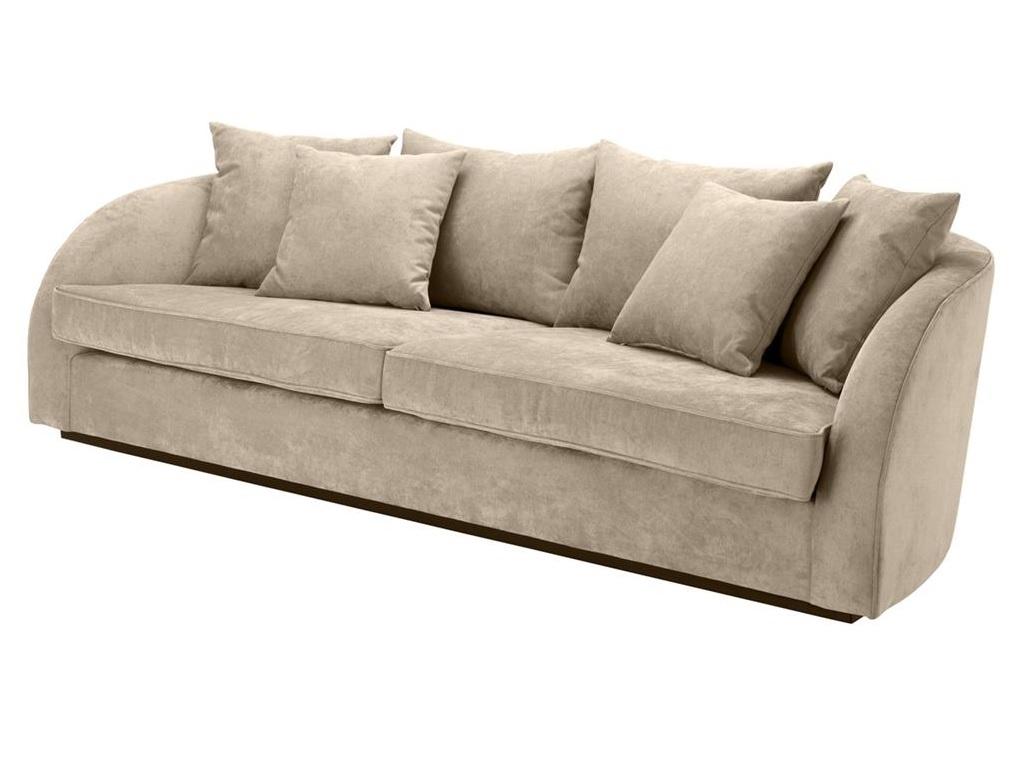 Диван Sofa Les PalmiersДиваны четырехместные и более<br><br><br>Material: Текстиль<br>Ширина см: 255.0<br>Высота см: 72.0<br>Глубина см: 91.0