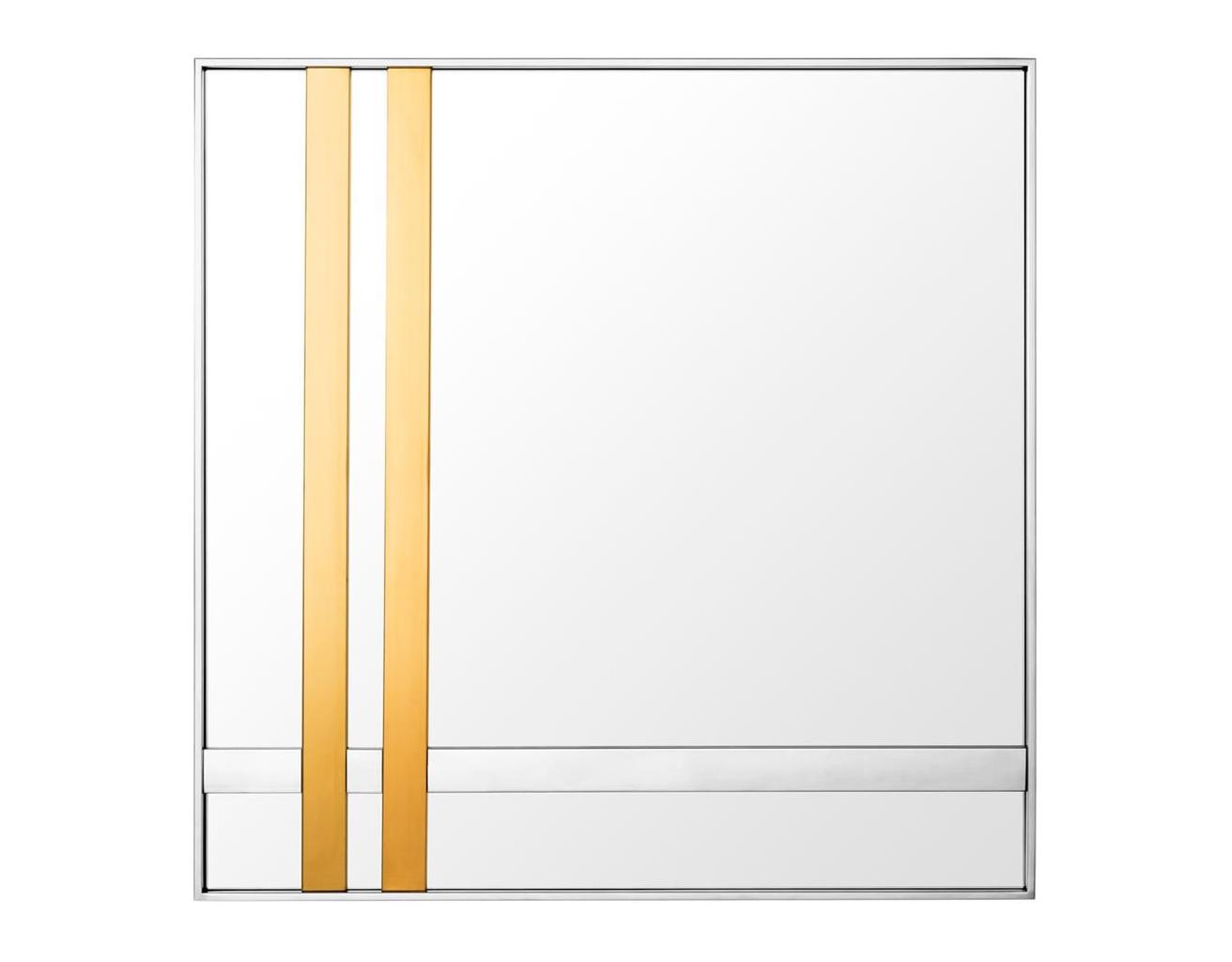 Зеркало Mirror BelgoНастенные зеркала<br><br><br>Material: Сталь<br>Ширина см: 94.0<br>Высота см: 94.0