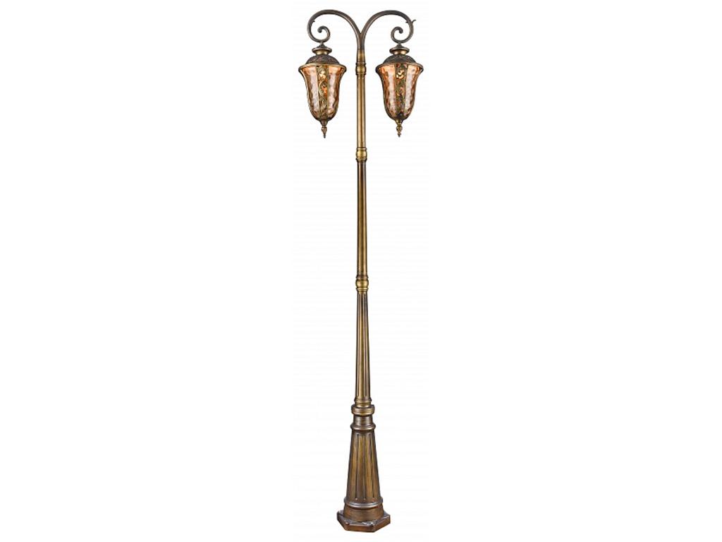 Фонарный столб LuxusУличные наземные светильники<br>&amp;lt;div&amp;gt;Вид цоколя: E27&amp;lt;/div&amp;gt;&amp;lt;div&amp;gt;Мощность: 60W&amp;lt;/div&amp;gt;&amp;lt;div&amp;gt;Количество ламп:2 (нет в комплекте)&amp;lt;/div&amp;gt;<br><br>Material: Металл<br>Width см: 53<br>Height см: 215